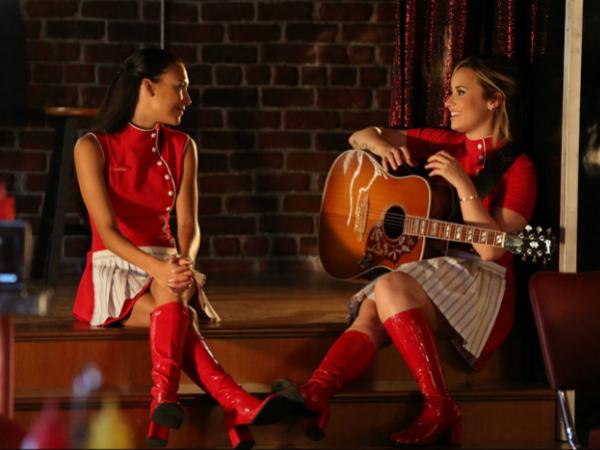 santana glee dating Naya rivera, actress: glee naya rivera was born on january 12, 1987 in valencia, california, usa as naya marie rivera she is an actress.