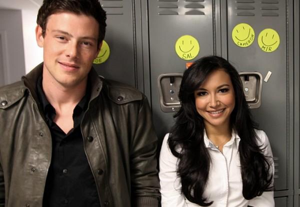 Naya Rivera Glee Cory Monteith Finn Hudson Santana