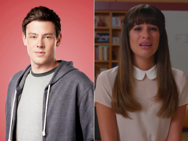 glee the quarterback farewell to finn lea michele cory monteith