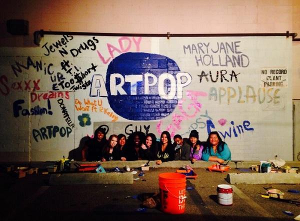 lady gaga artpop tracklist mural