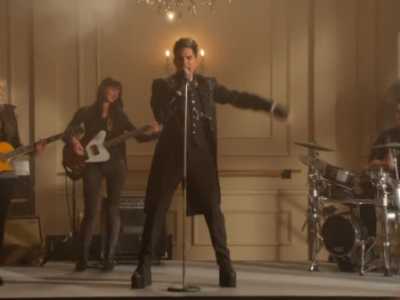 "Adam Lambert Gets Ready To ""Marry The Night"" On 'Glee': Watch The Trailer"
