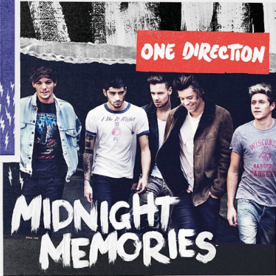 one direction midnight memories cover artwork