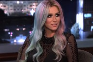 Ke$ha Tells Jimmy Kimmel About Her Haunted Vagina And Reality Show: Watch