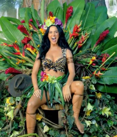 "Idolator Halloween: How To Dress Like Katy Perry In ""Roar ..."