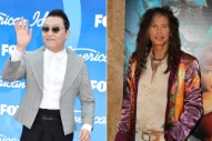 Remember PSY? He's Collaborating With Steven Tyler. (Remember Steven Tyler?)
