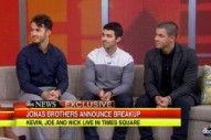 Jonas Brothers Explain Their Breakup On 'Good Morning America': Watch