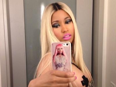 Nicki Minaj Was A Bondage Babe Wearing Boob Tape For Halloween: See The NSFW Pics