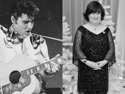 "Susan Boyle Sings ""O Come, All Ye Faithful"" With Elvis Presley: Listen To The Christmas Classic"