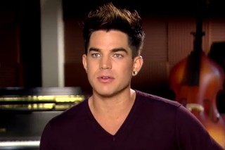 Adam Lambert Introduces His 'Glee' Character: Watch The Tantalizing Behind-The-Scenes Video
