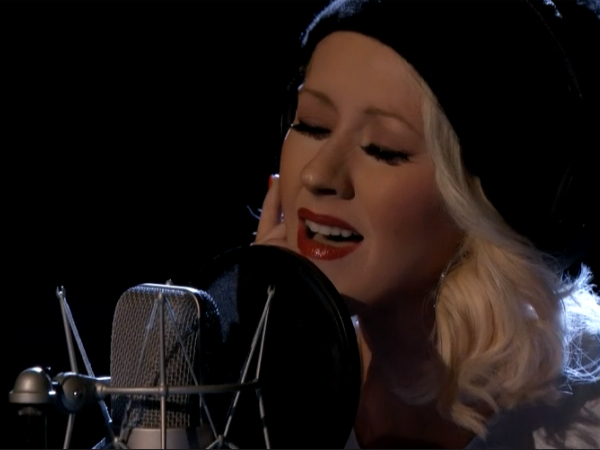 christina aguilera the voice say something 2013 a great big world