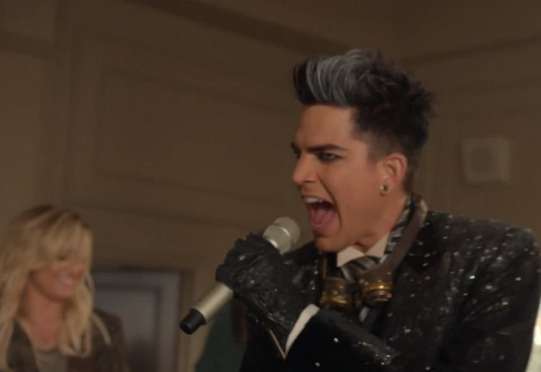 adam lambert glee marry the night 2013 demi lovato