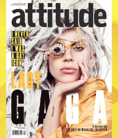 lady gaga attitude magazine uk cover 2013 madonna