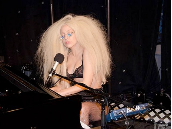 lady gaga howard stern 2013