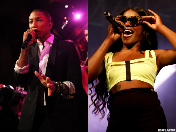 pharrell azealia banks