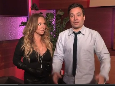 Mariah Carey Pranks Fans With A Little Help From Jimmy Fallon: Watch The Hilarious Video