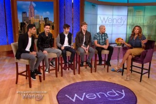 The Wanted Stop By 'Wendy Williams,' Just Because: Watch