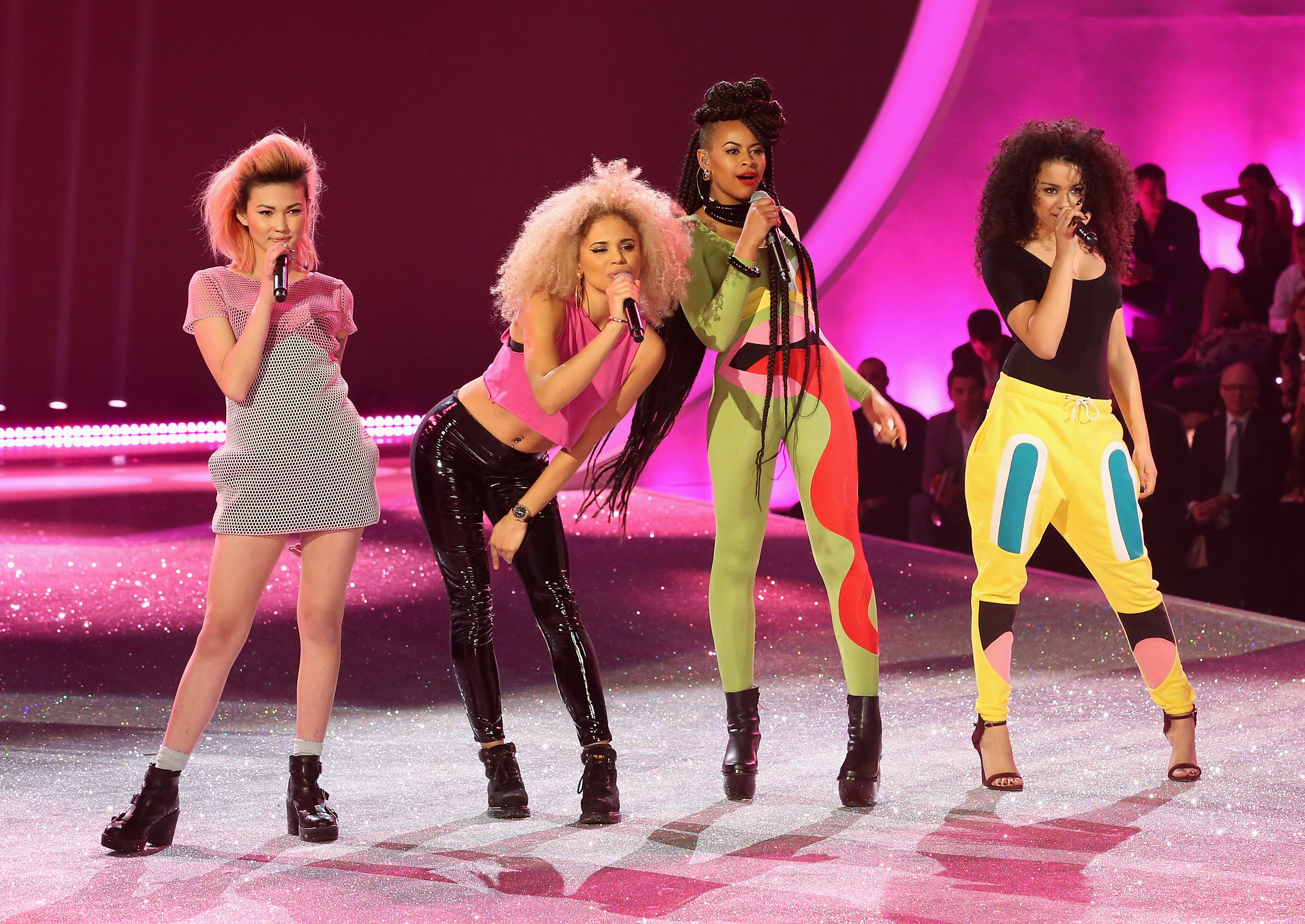 The Victoria's Secret Fashion Show 2013 Music The English girl group is one