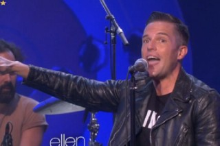 "Watch The Killers Perform ""Shot At The Night"" On 'Ellen'"