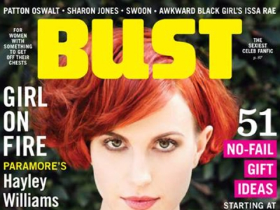 Hayley Williams Is Red Hot On The Cover Of 'Bust' Magazine: 6 Pics
