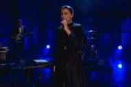 "Jessie Ware Performs ""Running"" On 'Conan', Sounds Flawless: Watch"