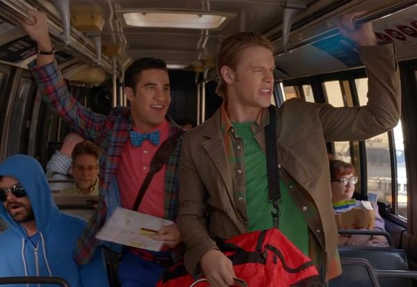 glee movin' out billy joel sam blaine season 5 2013
