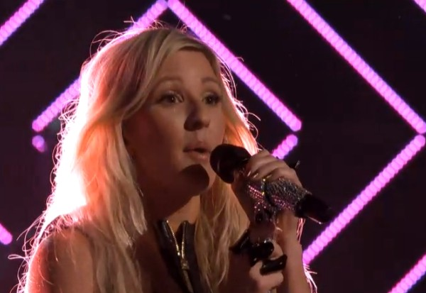 ellie goulding burn the voice 2013