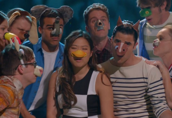 Glee what does the fox say season 5 2013