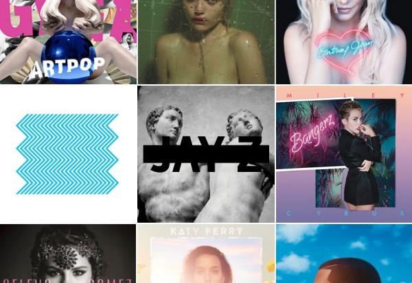 idolator 2013 best albums poll