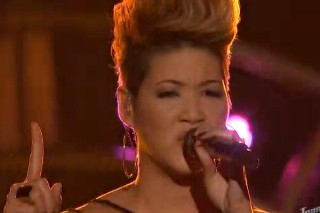 "'The Voice': Tessanne Chin Does Katy Perry's ""Unconditionally,"" Jacquie Lee Takes On Xtina"