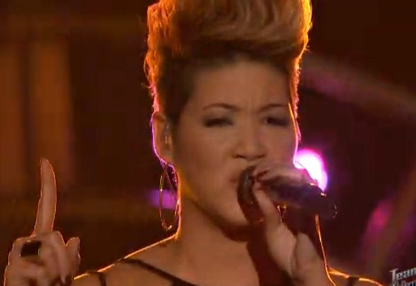 tessanne chin the voice katy perry unconditionally