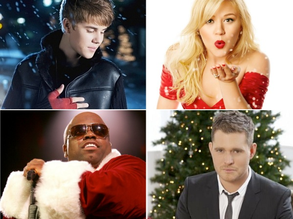 Christmas playlist justin bieber kelly clarkson cee lo green michael buble 2013