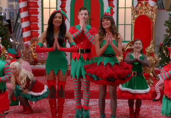glee previously unaired christmas season 5 2013