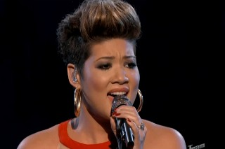 "'The Voice': Tessanne Chin Stuns With Whitney Houston's ""I Have Nothing"""