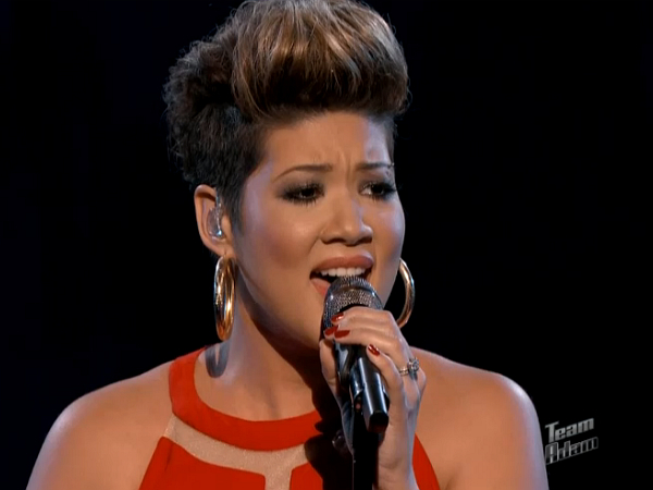 tessanne chin whitney houston i have nothing the voice 2013 season 5