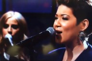 "Tessanne Chin Performs ""Tumbling Down"" On 'Jay Leno': Watch"
