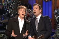Paul McCartney, Bee Gees' Barry Gibb & Madonna Crash 'SNL': Watch