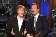 Paul McCartney, Bee Gees' Barry Gibb & Madonna Crash 'SNL': Watch