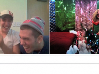 """Mariah Carey's """"All I Want For Christmas Is You"""": The Chatroulette Guy Strikes Again"""