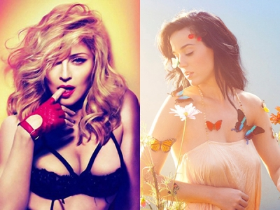 Madonna Selects Katy Perry As Guest Curator For Her 'Art For Freedom' Project: Morning Mix