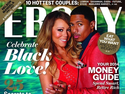 Mariah Carey Is Red Hot On The Cover Of 'Ebony' Magazine