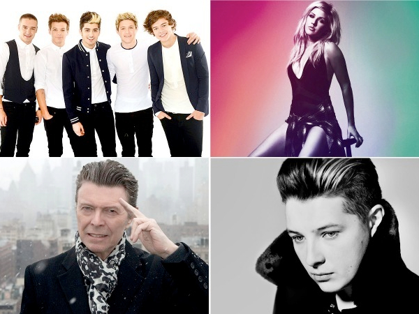 2014 Brit Awards nominations david bowie john newman ellie goulding one direction