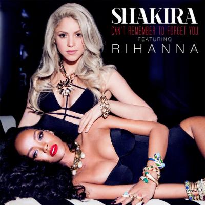 shakira rihanna duet artwork