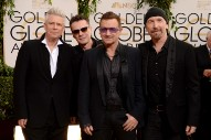 "U2 Win Best Original Song Golden Globe Award For ""Ordinary Love"""
