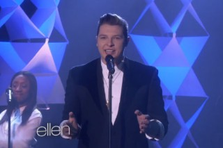 "John Newman Performs ""Love Me Again"" On 'Ellen': Watch"