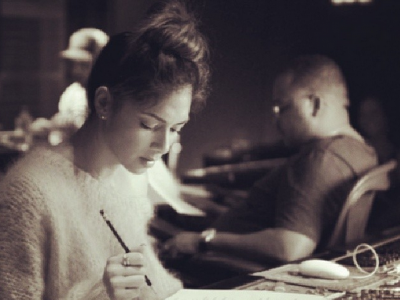 Nicole Scherzinger Is Back In The Studio (With Tricky Stewart)