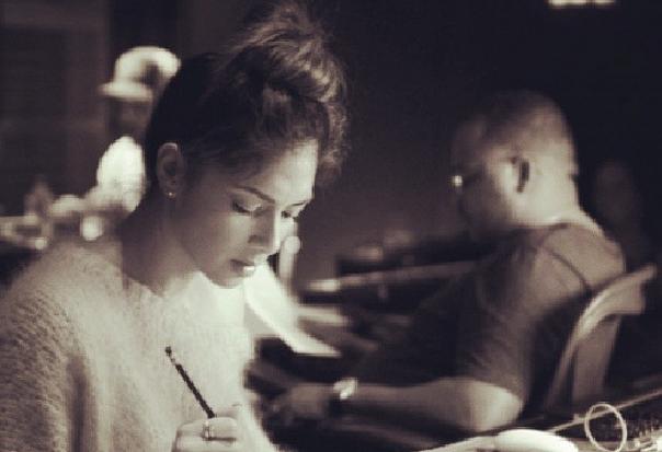 nicole-scherzinger-studio-instagram