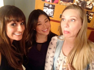 'Glee's 100th Episode Will Be Full Of Familiar Faces: See Photos From The Set