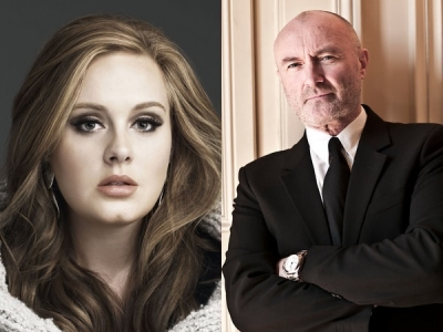 Adele & Phil Collins Are Writing Songs Together