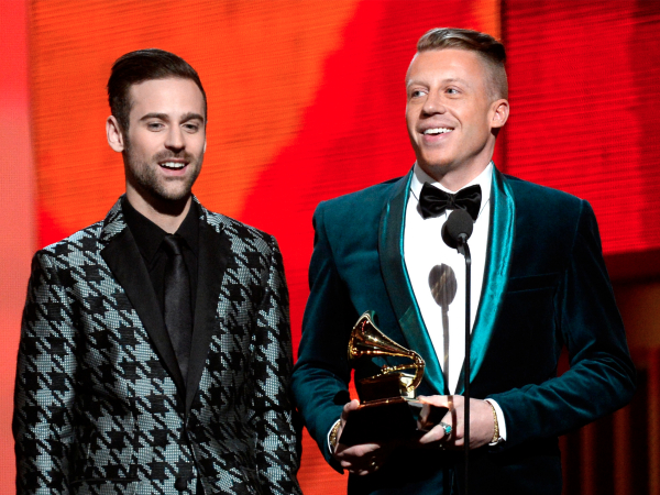 macklemore ryan lewis grammys win best new artist