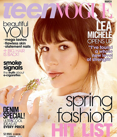 Lea Michele Covers 'Teen Vogue', Says Cory Monteith Inspired Her Debut Album